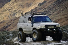 off-road car Polar Urals